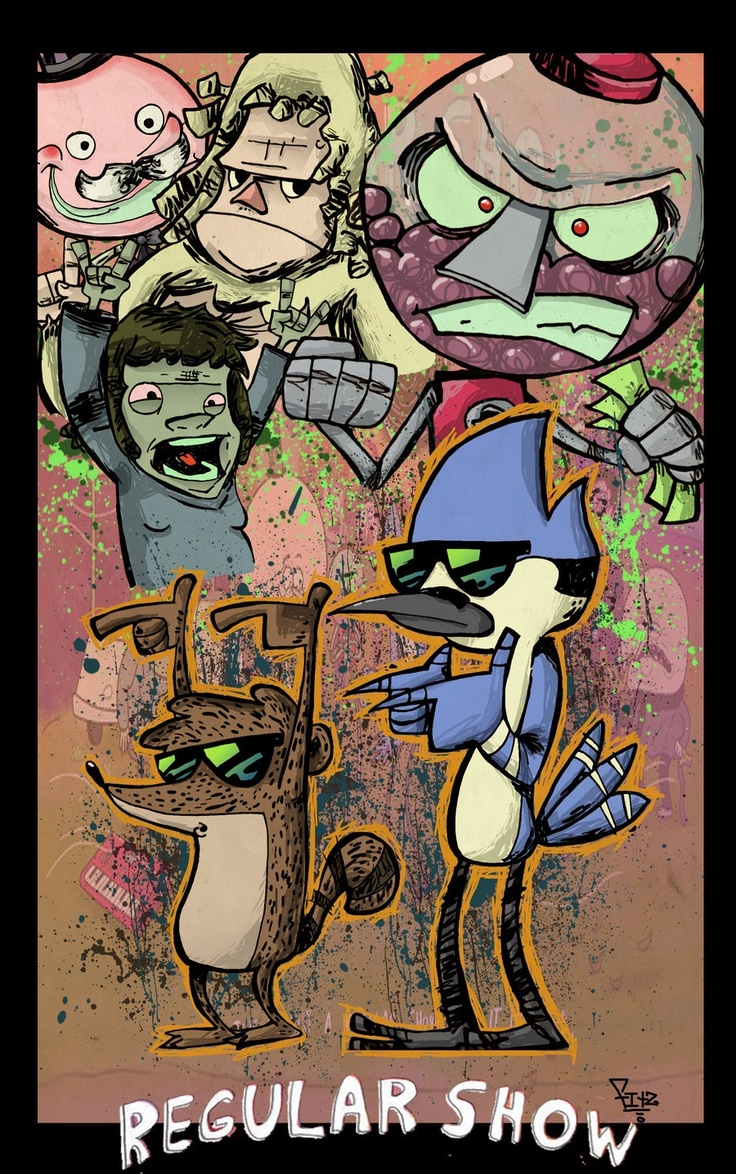 The regular show, best effing show eva...