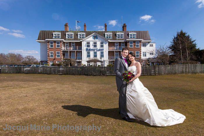 Balmer Lawn Hotel wedding venue review