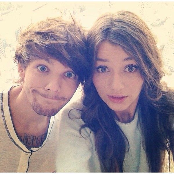 Eleanor Calder ❤ liked on Polyvore featuring one direction, eleanor, eleanor calder, elounor and louis tomlinson