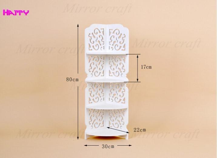 Rack soportes simple moderna de la pared estante for Casa moderna corea