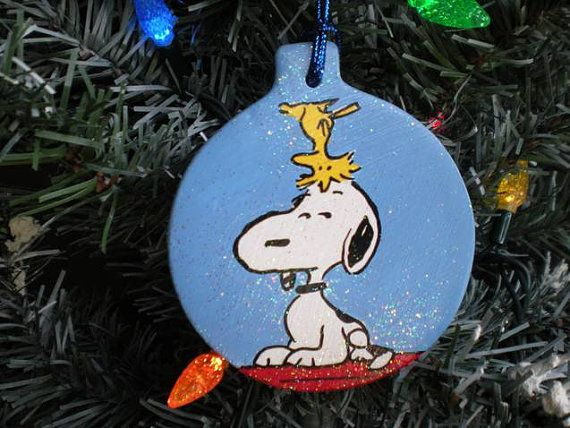 Snoopy Woodstock Charlie Brown Christmas by GalleryChristine, $17.00