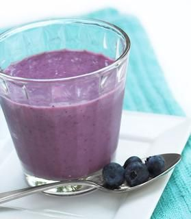 Blueberry-Almond Smoothie