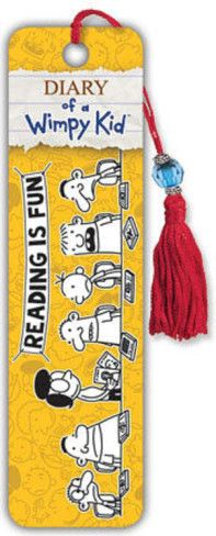 Diary of a Wimpy Kid - Reading is Fun Beaded Bookmark Bookmark at AllPosters.com