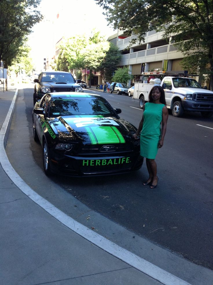 I'm going to have the Herbalife Branded Car of My Choice.