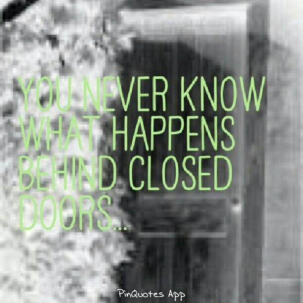 ... Closed The Door Quotes ...