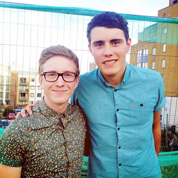 Tyler oakley and Alfie love them