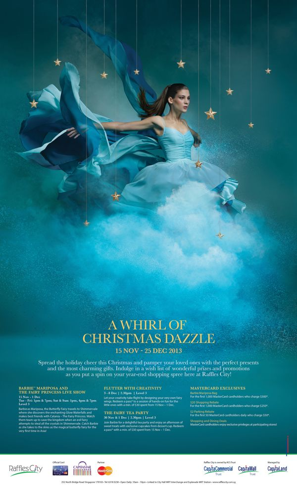 Raffles City Christmas Campaign 2013 on Behance