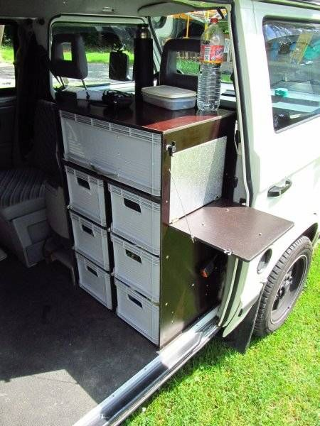 les 25 meilleures id es de la cat gorie t4 camper interior ideas sur pinterest caravane. Black Bedroom Furniture Sets. Home Design Ideas