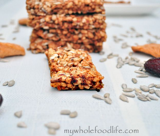 Nut Free Snack Bars. These are great for those that have nut free schools or nut allergies. They are also gluten free, vegan and contain no added sugar. Perfect for lunch boxes!