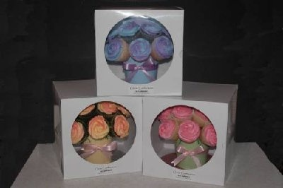 Cupcake bouquet boxes
