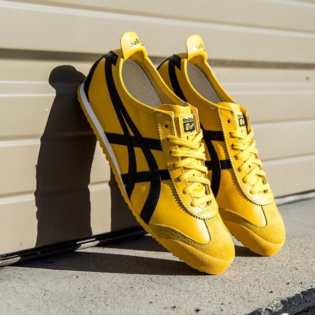 Onitsuka Tiger Mexico 66: Yellow/Black