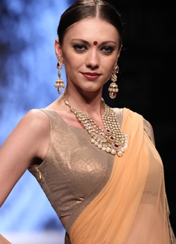 Day 2 - Models walk the ramp for Jud Jewellery #iijw13