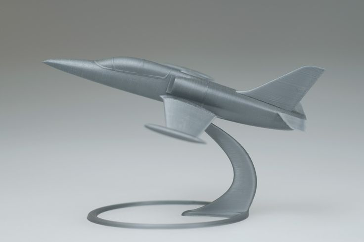 Fotka v albu Aero L-39 Albatros - Printer: Prusa i3 MK2, Material: PLA, Nozzle: 0.4 mm, Resolution: 0.05 mm, Infill: 50%, Size: 158 x 114 x 89 mm, 10 parts, Model: Cinema 4D - Fotky Google