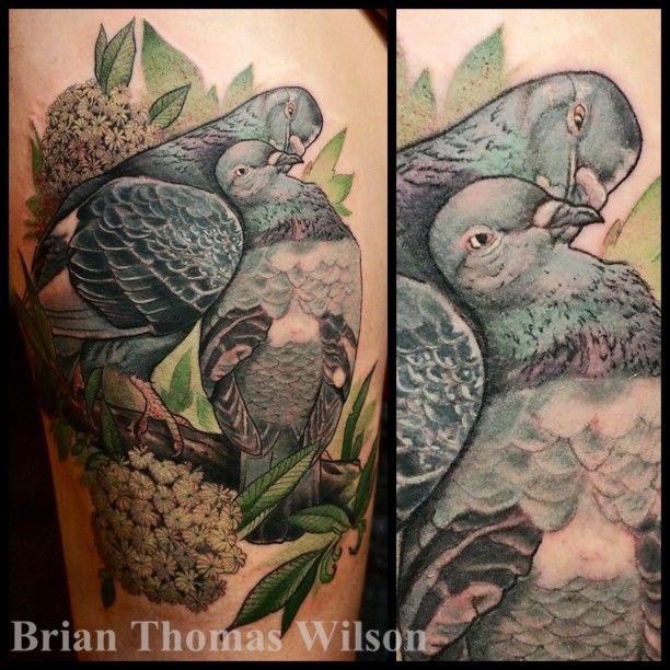 Pigeon Tattoo.