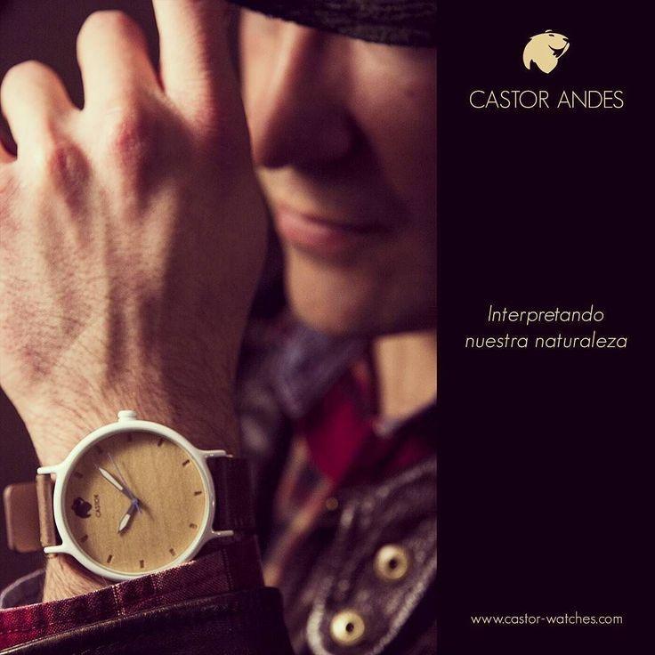 Con un #reloj #castorandes tienes innovación en materialidad y diseño. Fuera de lo común. Buen sábado . #castorwatches . www.castor-watches.com  Whatsapp: 56994033705  envío gratis a todo #chile y el mundo . #watch #watches #relojes #relojesdemadera #woodenwatches #accesorios #sabado