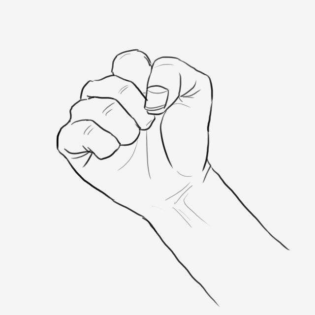 Fist Fist Clipart Clenched Fist Png Transparent Clipart Image And Psd File For Free Download Clip Art Hand Fist How To Draw Hands