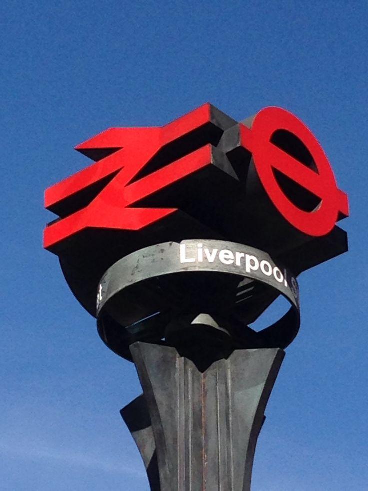 Liverpool Street Station Railway sign