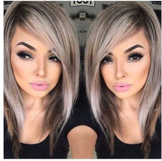 Gray Ash Blonde hair