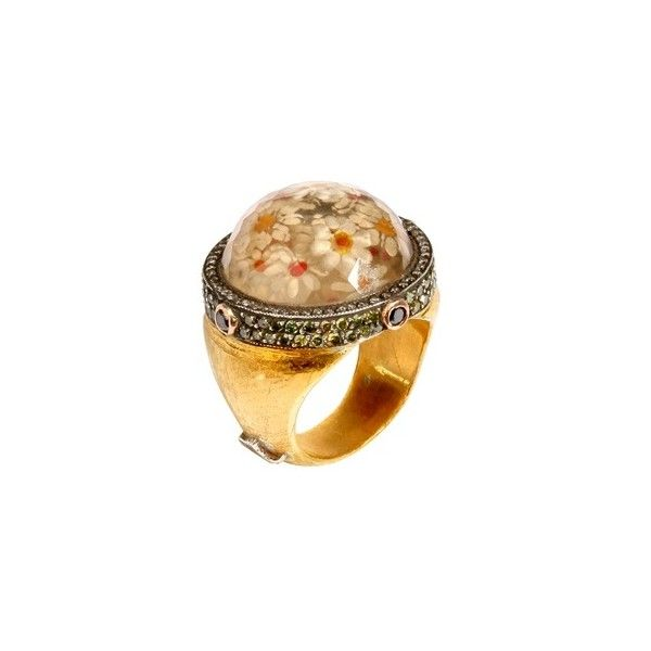 SEVAN BIÇAKCI - GOLD FLORAL RING - Sevan Bicakci - Polyvore