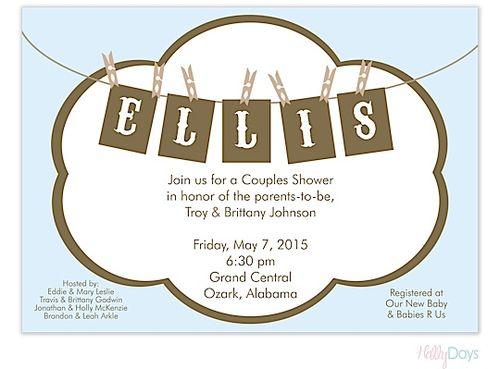 71 best baby shower invitations images on pinterest shower vintage ellis invitation boy shower invitationsbaby namesinvitation filmwisefo