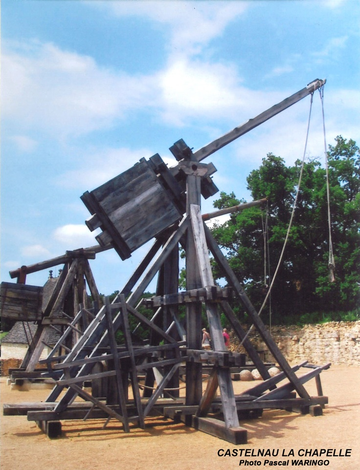 Medieval Catapult Range - WoodWorking Projects & Plans