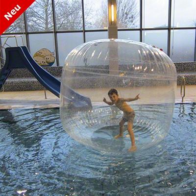 Sport-Thieme® Big Aqua-Move-Ball: Und man kann auf dem Wasser laufen!