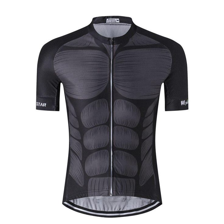 Anatomy Muscle Abs Cycling Jersey