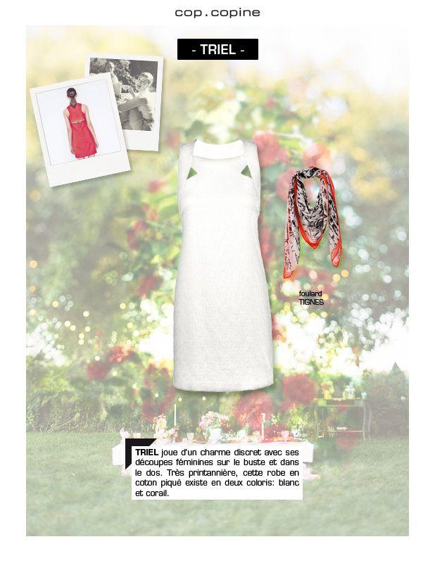 -Get dressed! #3- ambiance garden party avec la délicate robe TRIEL
