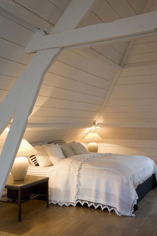 Schlafzimmer In Dachschr臠e