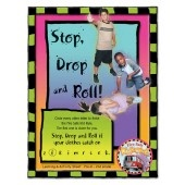 """Stretch's-Stop, Drop, and Roll!"" Activity Sheet"
