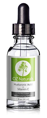 OZ Naturals - THE BEST Hyaluronic Acid Serum For Skin - Clinical Strength Anti Aging Serum - Best Anti Wrinkle Serum With Vitamin C + Vitamin E - Our Customers Call It A Facelift In A Bottle. This Vegan Hyaluronic Acid Serum Will Plump & Hydrate Dull Skin As It's Designed To Fill Those Fine Lines & Wrinkles. Satisfaction 100% GUARANTEED! OZ Naturals http://www.amazon.co.uk/dp/B00C7DYBX0/ref=cm_sw_r_pi_dp_yvsLvb0W3EDM9