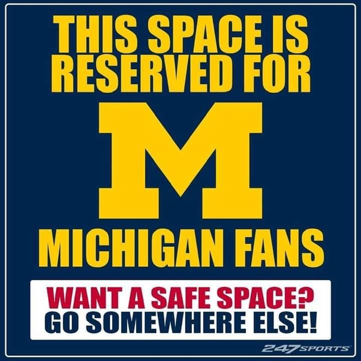 Go Blue With Images Michigan Sports Michigan Wolverines