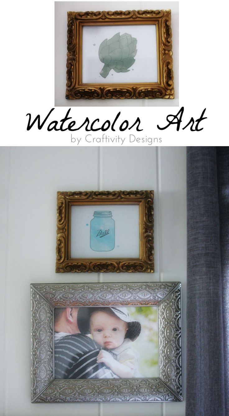 Simple Watercolor Wall Art printable Httpbitly