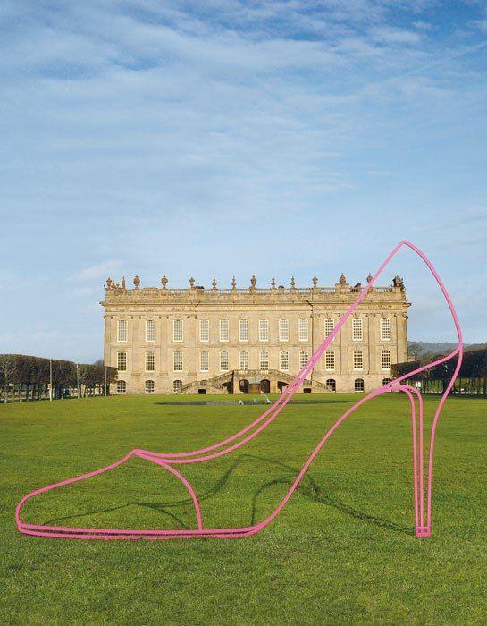 Artist Michael Craig-Martin Brings Whimsy to Chatsworth House