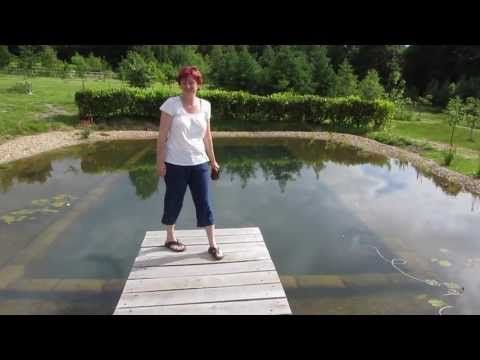 Joanna builds her own Natural Pool #permaculture #naturalpool