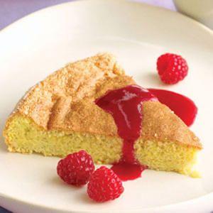 35 summer fruit desserts | Almond Torte with Raspberry Coulis | Sunset.com - 5 STARS