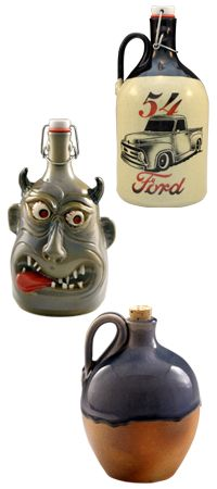 Hand Made Growlers! These would make an awesome gift!