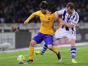 Sergi Roberto ruled out of Spain fixtures