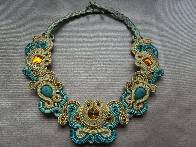 It's my soutache fairy tale: Marisol