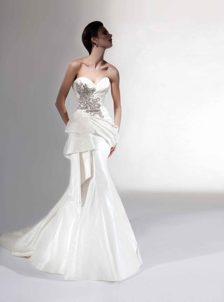 Glamorous Victor Harper Wedding Dresses. To see more: http://www.modwedding.com/2014/01/13/glamorous-victor-harper-wedding-dresses/ #wedding #weddings #fashion