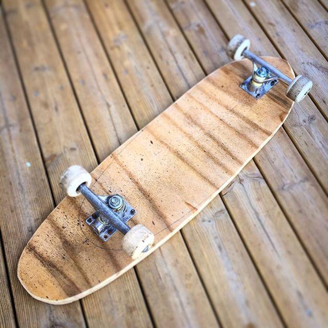 """Tehtiinpä """"kesälapselle"""" cruiseri. #kuinsiistii #fb #rullalauta #skateboard #skate"""