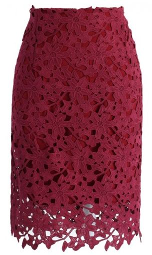 crochet pencil skirt in wine  http://rstyle.me/n/r2h54pdpe