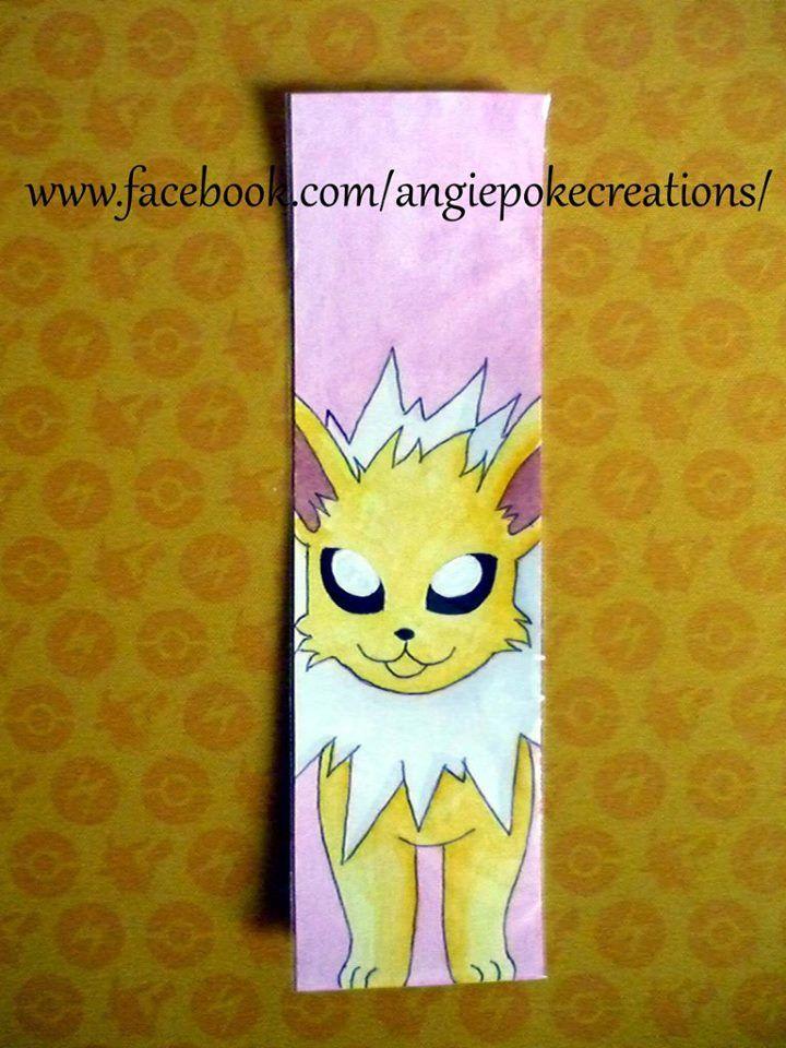 Marque-Pages Pokemon Création Dessin Fan Art : voltali