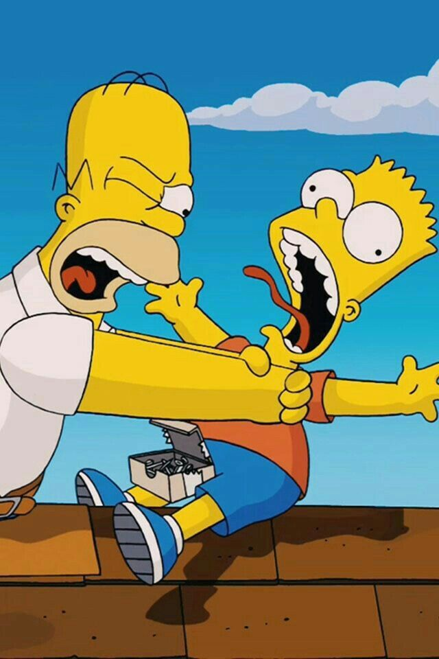 The Simpsons ~ Homer and Bart!