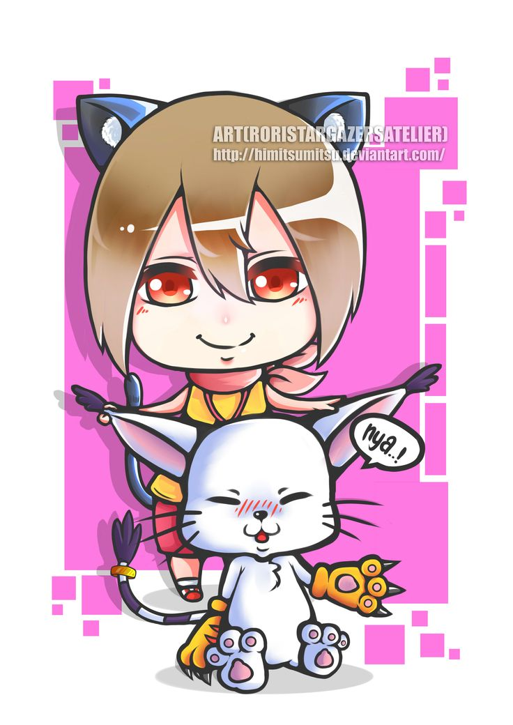 Hikari and Tailmon Digimon Series  i made this fanart because i am a huge fan of digimon series :D that was amazing when i was chid,   am biggest fans for this anime, what about you guys???