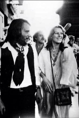 ABBA Benny and Frida in Australia 1977