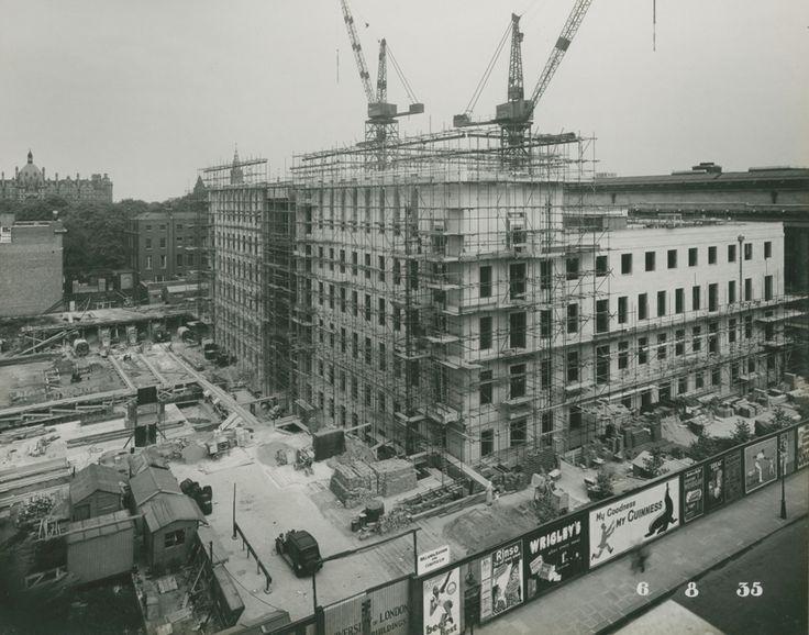 Senate House construction 1935