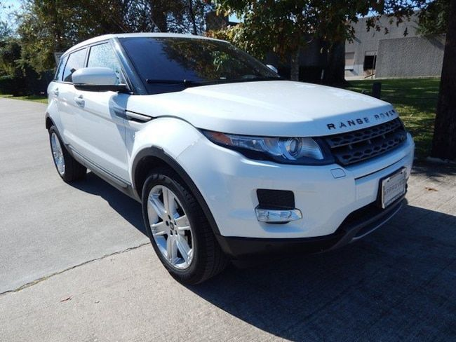 Used 2013 Land Rover Range Rover Evoque For Sale in Houston TX | Stock: TDB845612