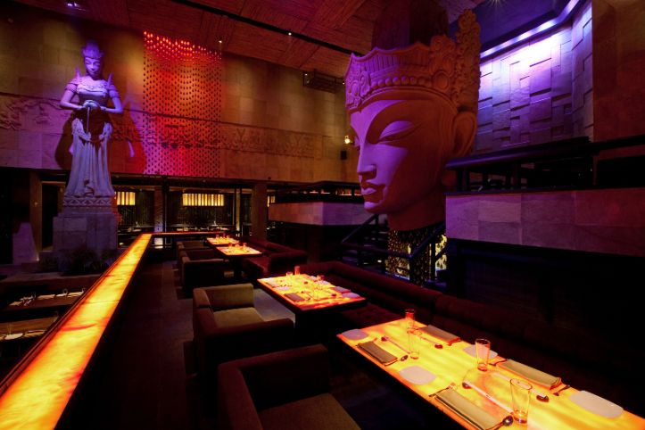 #Shiro, the #restaurant plus lounge in #HotelSamrat in #KautilyaMarg of #Chanakyapuri, was named as the #BestBar for #Dancing in the Times #Food and #Nightlife Awards 2014. After 11 p.m. this oriental restaurant turns into a thriving #nightclub that draws #Delhi's most elite crowd. It is known for its sublime and lavish ambience imposing #Buddha sculptures all over and a majestic Buddha statue in the middle with the main bar.