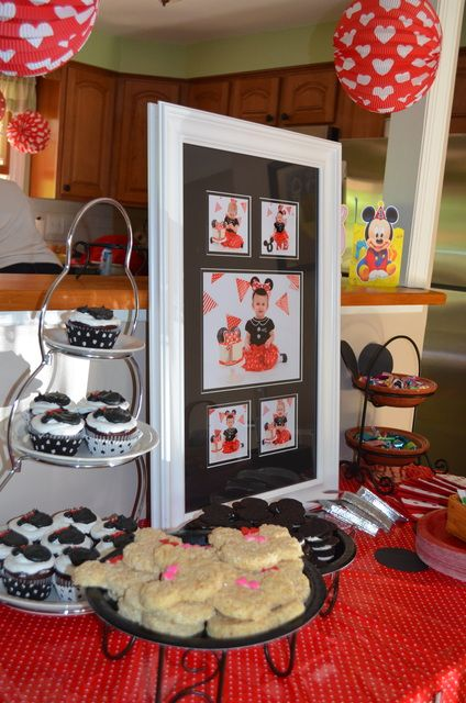 "Photo 15 of 64: Minnie Mouse / Birthday ""Gabbie's 1st Birthday"""